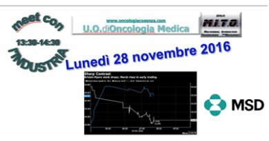 Lunch con MSD 28 novembre 2016